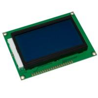 LCD12864B ST7920 ЖКИ дисплей 128х64 точки синий фон, белое изображение