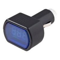 Цифровой вольтметр в прикуриватель для автомобиля