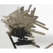 Никелевые лепестки для сварки аккумуляторов  0,12*3*28 мм.