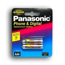 АККУМУЛЯТОР Panasonic AAA (R03) NIMH 750MAH