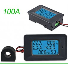 Ваттметр P06S-100, AC22KW, 110 ~ 250В, 100A
