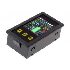 Измеритель заряда и разряда аккумулятора, вольтметр, амперметр постоянного тока 0-90в, 0-20