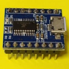 Модуль воспроизведения звуковых сигналов JQ6500-16P