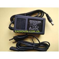 Блок питания пластиковый БП 220/12 / 4А ноутбучного типа