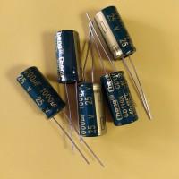 1000mkf 25V 105°C 10*20 mm компьютерный электролитический (низкий импеданс) LOW ESR (CHONG)