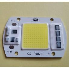Светодиодная матрица для прожектора мощностью 50Вт питание 220V