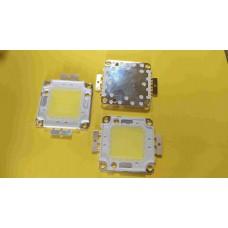 Светодиодная матрица 50W СOB белый холодный 6000К