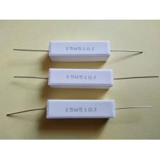 51ом 5% CRL-15W проволочный резистор, цементный AXIAL вывод