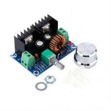 Модуль XL4016E1+R понижающий DC-DC преобразователь с регулятором Uin 4-40V, Uout 1.25-36V, 8A, 180KHz.