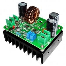 600W DC-DC повышающий преобразователь с регулировкой тока и напряжения. Uin-10...60V Uout-12...80V, Iout-10 А max