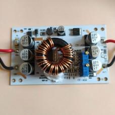 Повышающей преобразователь 600W 10A с регулировкой тока и напряжения Uin 10-60V, Uout 12-60V