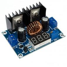 Модуль XL4016E1-LED понижающий DC-DC преобразователь с вольтметром Uin 4-40V, Uout 1.25-36V, 8A, 180KHz