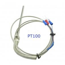 Температурный датчик РТ100 в металлическом зонде