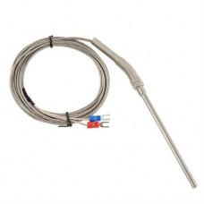 Термопара К-типа, 100 мм датчик температуры с резьбой 0-400 С для електронных измерители температуры