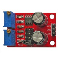 Модуль YL-107 NE555 - генератор прямоугольных импульсов с регулировкой частоты и скважности