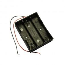 ДЕРЖАТЕЛЬ ДЛЯ аккумулятора HOLDER 3 X 18650 С проводами