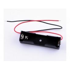 KLS5-801-B, держатель для 1 батареи АА провод 15см.