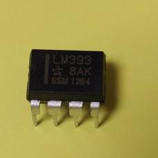 LM393N DIP-8 TI сдвоенный компаратор