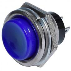 Кнопка PBS-26B без фиксации OFF-(ON) синяя