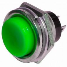 Кнопка PBS-26B без фиксации OFF-(ON) зеленая