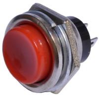 Кнопка PBS-26B без фиксации OFF-(ON) красная