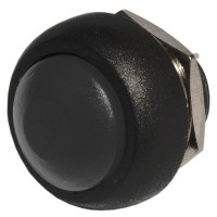Кнопка PBS-33B без фиксации OFF-(ON) черная
