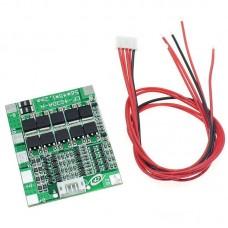 Контроллер заряда / разряда для 4-х литиевых аккумуляторов, плата защиты 4S30A с балансировкой
