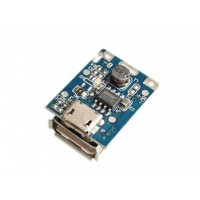 Контроллер плата Mini Power Bank со светодиодным индикатором и USB выходом 5V 1A