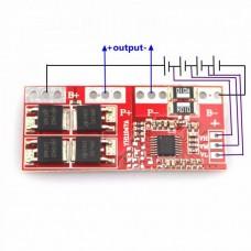 Модуль контроля заряда и защиты 4-Х LI-IONнных аккумуляторов 4S-30A.