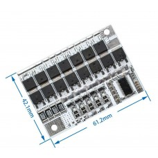 BMS КОНТРОЛЛЕР заряда / разряда, ПЛАТА ЗАЩИТЫ 5S 100А 21V Li-Ion аккумулятора c балансиром