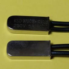 Термостат KSD9700 60 ° C 5A 250В NO нормально открытый