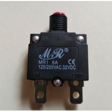 MR1 6A автоматический выключатель, защита от перегрузки по току