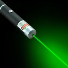 Лазерная указка ручка зеленая Green Laser Pointer 5МВ