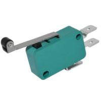 Микропереключатель концевой 16А/250V KW1-103-7-B1SA рычаг 25мм с колесом (6,3мм контакт)