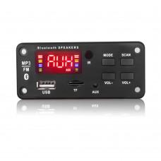 МОДУЛЬ СТЕРЕО АУДИО MP3, FM ПЛЕЕРА С BLUETOOTH, USB, MICRO SD JQ-D022BT-A