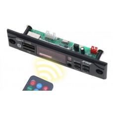 МОДУЛЬ СТЕРЕО АУДИО MP3, FM ПЛЕЕРА С BLUETOOTH, USB, MICRO SD