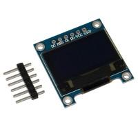 Модуль OLED 128x64 0.96 дюйма, SPI интерфейс 6 pin SSD1306, БЕЛЫЙ