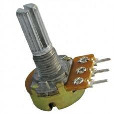10кОм переменный резистор(моно) 3pin характеристика линейная