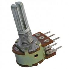 50кОм переменный резистор(стерео) 6pin характеристика линейная