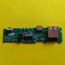 Контроллер заряд/разряд плата POWER BANK USB 5V/1A H010-C V1.0