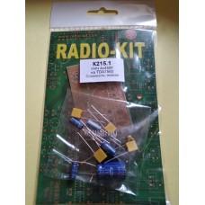 Радиоконструктор RadioKit K215.1 УНЧ 4x45W TDA7560 набор