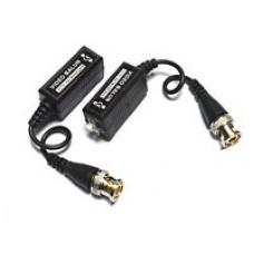 Видео балун для CCTV камер видеонаблюдения, с кабелем, 400-600м, в блистере, 2шт