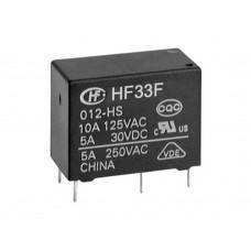HF33F-012-HSL3 РЕЛЕ DC12V 4pin