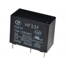 HF33F 024-HSL3 РЕЛЕ DC24V 4pin