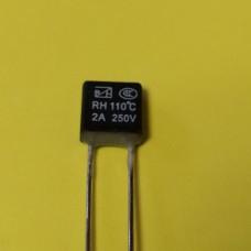 KLS5-104 2A 250В 110°C термо-предохранитель