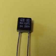 KLS5-104 2A 250В 125°C термо-предохранитель