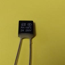 KLS5-104 2A 250В 105°C ТЕРМО-ПРЕДОХРАНИТЕЛЬ