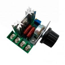 Регулятор мощности - диммер 2000W 220V фазовый симисторный BTA-16