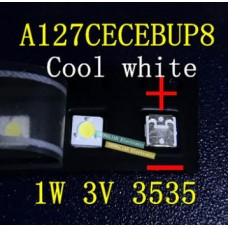 СВЕТОДИОД ДЛЯ ПОДСВЕТКИ LCD TV 3535 3V 1W Сила света 23-24cd A127CECEBUP8