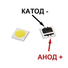 Светодиод для подсветки LCD TV 3535 6V 2W 135LM SEOUL SBWVL2S0E
